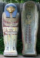 Egyptian Sarcophagus Prop by TimBakerFX