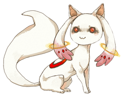 kyubey. by Hazubeki