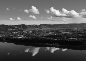 Hood River, Clouds, Columbia by AFL