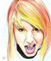 Hayley Williams by MichaelWarrenTaylor