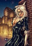 Black Cat (colors) by FantasticMystery