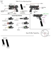 'MAP-57' 5.7mm Pistol Info by KillSwitchWes