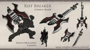 Riff Breaker MH4U by acraignavie