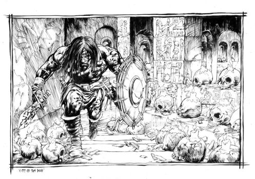 Conan The Barbarian - City Of The Dead by Wiligothic