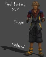 FFX-2 Shuyin (Updated) by Frozen-Knight