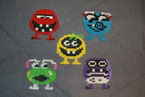 Troggles Perler by evilpika