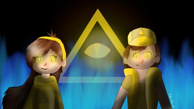 Bipper and Mabill by LittleNightshade