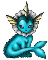 Vaporeon by WinterDenni
