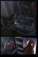 Spiderman Page 1 by sludger