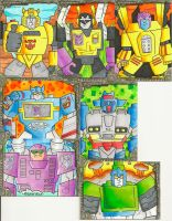 Transformers Sketch Cards 3 by zaymac