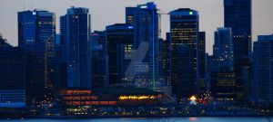 Vancouver at Dusk by Digibug