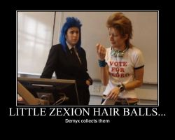 Little zexion hair balls... by iBloom