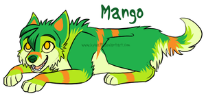 Adopted Wolf - Mango by Kylua95