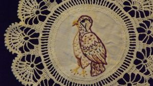 Hawk Doily by Moon-Crafter
