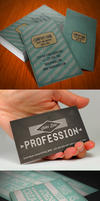Vintage Business Card Bundle by Nyz87