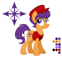Reference Sheet: Dodo Chaplet by LissyStrata