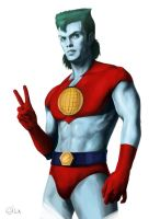 Captain Planet by MeWannaLearn
