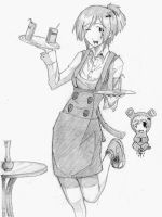 waitress by Imhungry