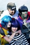 GoRiLLaZ Cosplay 207 Group by Murdoc-lein