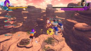 DBXenoverse 2: Battle with Great ape Vegeta by Evil-Black-Sparx-77