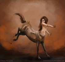 Centaur Girl by Mospineq