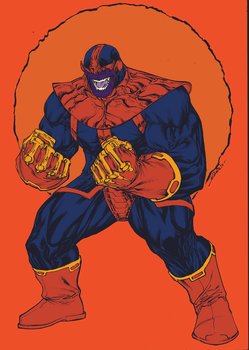 thanos   sept8th2014 by spiderguile-flats AZTER by AZTER-CHAVEZ
