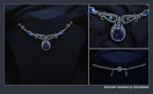 Nimrodel necklace by bodaszilvia