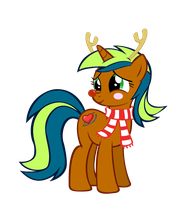 Kalu's Hearthswarming eve outfit by SkittlesThePony1