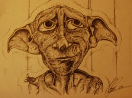 Dobby in Pen, Present for a friend. by PanicProductionsFilm