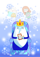 Adventure Time : Ice King (lonely) by howzih