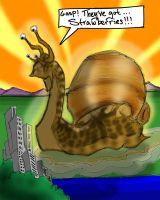 Rise of Snailzilla (reboot) by quentinlars