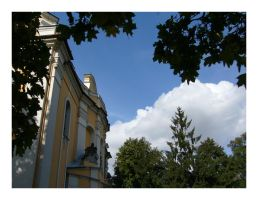 trees_clouds_and_church by Rayashi