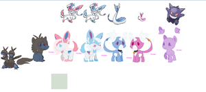 Pokepony auctions Preview! by dragonsweater