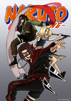 Naruto NG Coloured Cover by BuD-bUd