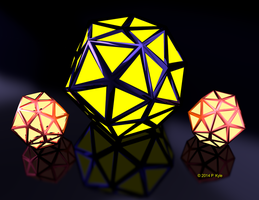 Dodecahedron by fractalyst