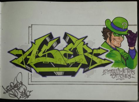 Riddler by bugs-one
