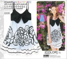 Japan magazine StyleFlashDress by fashionclothing4u