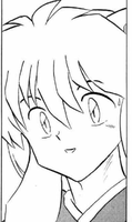 InuYasha's WTF face by WhitePearlVoice