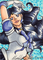 ACEO #27 - Sailor Crystal Asteroid by Heart-of-Amethyst