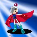 Mighty from Bomberman Jetters by Meta-Kaz