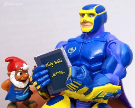 Bibleman Action Figure Reading Bibles by EspioArtwork31