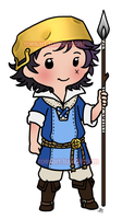 Chibi Donnel by roseannepage