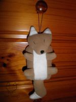 PAWP - Hangable Fox Plushie by teal-serpent