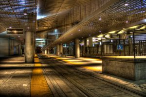 Train Station by smartrifle