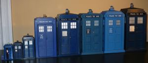 Bunch of Tardises by DoctorWhoNC