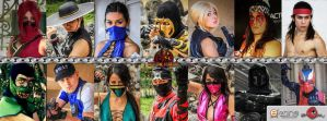 Mortal Kombat Outstanding - Chilean Cosplay Team by DorianG26