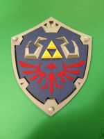 The Hylian Shield by thelivingendx