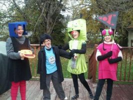 INVADER ZIM COS-PLAY FOR HALLOWEEN by invaderSMEET
