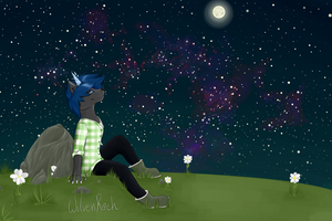 Staring At Stars by WolvenRach