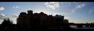 Silhouette Panoramic by lovephotography